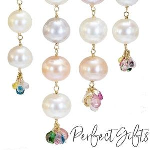 Jewelry - New Pearl and Tourmaline necklace
